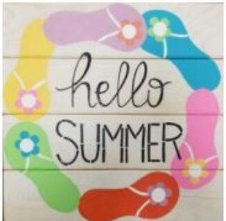 hello summer board